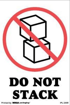Picture of Do Not Stack 4 x 6