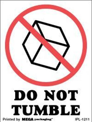 Picture of Do Not Tumble 3 x 4